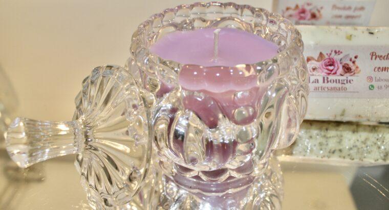 Vela artesanal perfumada