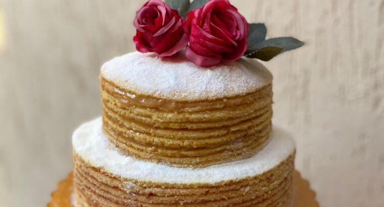 Naked de Cake de Bolo de Rolo
