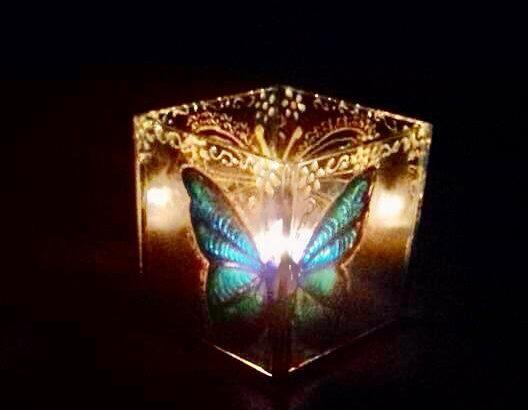 Luminárias em Vitral