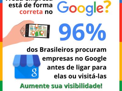 Sua empresa em destaque no Google